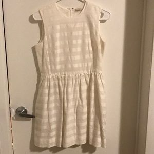 Gap easy, comfy white cotton dress